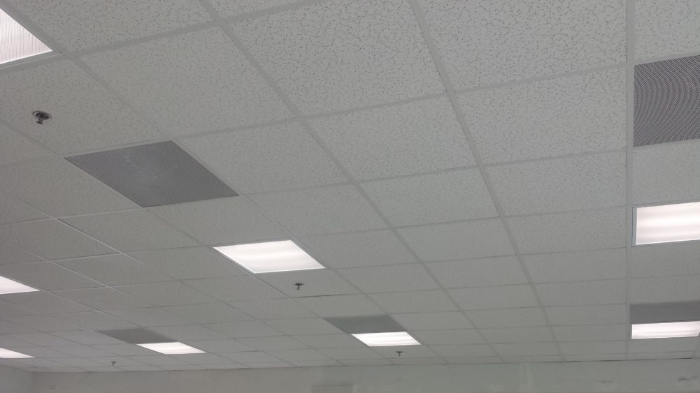 COMMERCIAL CEILING DeGeorge Room Improvement - Commercial ceiling tiles near me