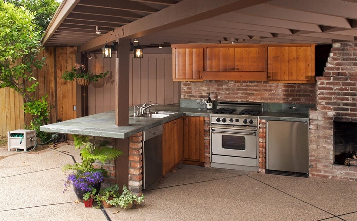 Custom Outdoor Kitchen Cabinets Tampa Bay - DeGeorge Room ...